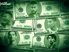 Los 10 traspasos más caros de la historia del fútbol. ProFootballDB