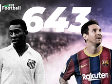 Messi eguaglia Pelé. ProFootballDB