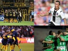 Los equipos sudamericanos que nunca han descendido. EFE
