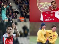 De Cesc a Ceballos, los españoles que han pasado por el Arsenal. EFE/AFP