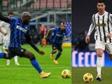 Lukaku vs Cristiano: una bestia contra un bicho. AFP