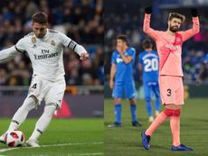 Ramos y Piqué comandan la lista. EFE