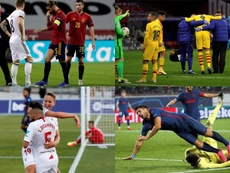 Los 10 futbolistas de España más castigados por la pandemia. EFE