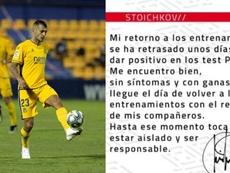 Stoichkov confirmó su positivo por COVID-19. LaLiga/Stoichkov