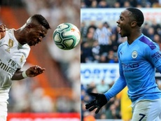 Vinicius compared his beginnings with those of Sterling... What does 'big data' say? EFE/AFP