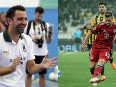Joshua Kimmich podría encajar bien en el Barcelona, según Xavi. EFE