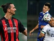 Ibrahimovic empezó su carrera en el Malmö donde ahora destaca Ahmedhodzic. AFP/EFE