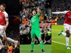 Arsenal dit au revoir à plusieurs joueurs. AFP/EFE
