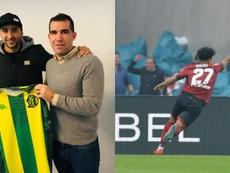 El Sporting mueve ficha: Alan, a Aldosivi; Pereira, cerca del WBA. Montaje/Aldosivi/AFP