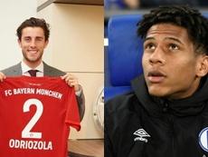 El 'Clásico' a distancia que se juega en Múnich. Montaje/Bayern/AFP