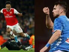 Las dos opciones en la recámara del Barça. Montaje/AFP