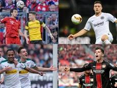 Las cuentas de la última jornada de la Bundesliga. AFP