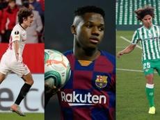 El fútbol español puede sacar pecho. Montaje/EFE