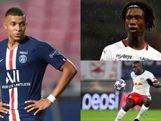 Camavinga, Mbappé e Upamecano são as prioridades do Real Madrid. Montaje/BeSoccer