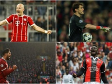 Casillas, Robben, Can y Balotelli aún no tienen equipo para la próxima temporada. BeSoccer/EFE/AFP