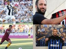 La Serie A vivió un gran mercado de traspasos. EFE