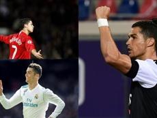 Cristiano, rey del gol de la Premier, LaLiga y la Serie A. AFP