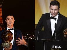 Cristiano vuelve a hablar de sus cinco Balones de Oro. Montaje/AFP/EFE