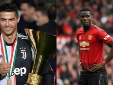 CR7 wants Pogba. AFP