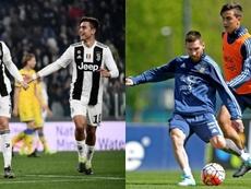 Dybala pode jogar com Cristiano e Messi. Montaje/BeSoccer