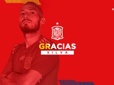 David Silva a annoncé sa retraite internationale. RFEF