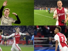 Ajax's young stars are seemingly on their way out of the Dutch side. AFP/EFE