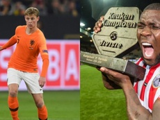 Drenthe has spoken about his compatriot, De Jong. AFP