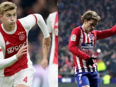 Barca's priority is clear: De Ligt. AFP/EFE