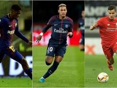 Coutinho e Dembélé não fazem um Neymar. BeSoccer