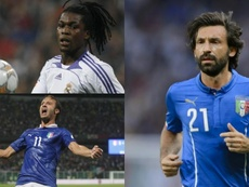 Les 10 derniers MVP de l'Euro U21. Montaje/AFP