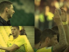 El emotivo vídeo con el que el Nantes recordó a Sala. Twitter/FCNantes