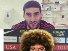 Le changement de look. Fellaini/ASRoma