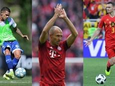 Gago, Robben o Vermaelen han sufrido auténticos calvarios en su carrera. Vélez/AFP