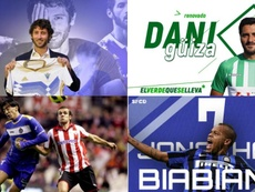 Fichajes de barro... y muy random: diez estrellas en el fútbol modesto. Montaje