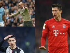 Bayern de Munique, Juventus e Manchester City atravessam uma temporada muito mais complicada. AFP