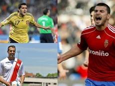 Muchos jugadores de Segunda B tuvieron un pasado en Primera División. EFE