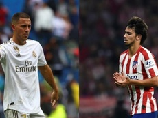 They both play in Madrid. AFP/EFE