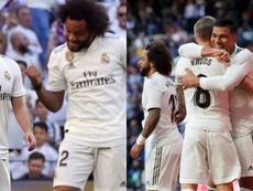 Casemiro, Isco and Marcelo - Napoli targets. EFE
