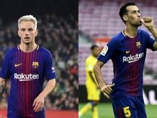 El Barça quiere atar a los dos para intentar mantener su bloque. AFP