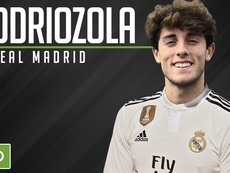 Odriozola is moving to the Bernabeu. EFE
