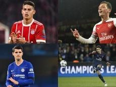 Muchos grandes jugadores no han deslumbrado lejos del Madrid. AFP/EFE