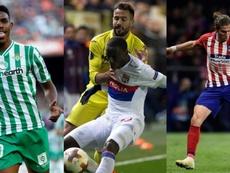 El Barça busca lateral izquierdo. EFE/AFP