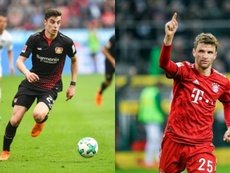 United will splash the cash to get Havertz and Muller. AFP