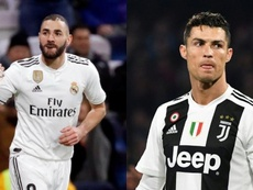 Benzema fait mieux que Cristiano. montage/BeSoccer