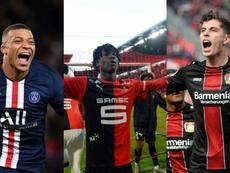 Mbappé, Camavinga y Havertz tienen claro que quieren fichar por el Madrid. AFP
