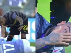 Los 'otros goles' del fútbol: Vidal expulsó a Immobile. Captura/MovistarLigadeCampeones
