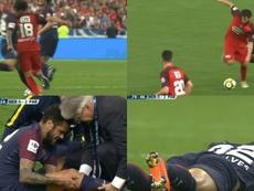 Dani Alvés se rompió en la final de la Copa de Francia. BeSoccer