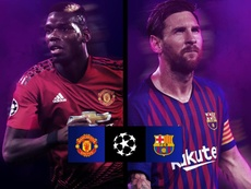 Man U and Barca will meet in the quarters. UEFAChampionsLeague