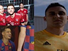 Los cinco jugadores que fueron vendidos tras presentar una camiseta. Bayern/RealMadrid/FCBarcelona