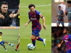 El Barcelona sigue buscando jóvenes talentos. EFE/AFP/LaLiga